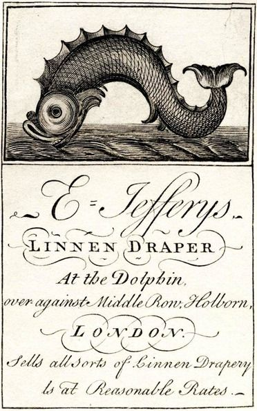18th century business cards via it's nice that