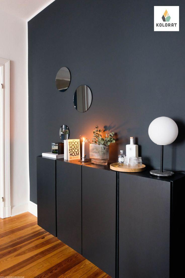 Farbfreude Wohnzimmerideenwandgestaltung Mach Einfach Mal