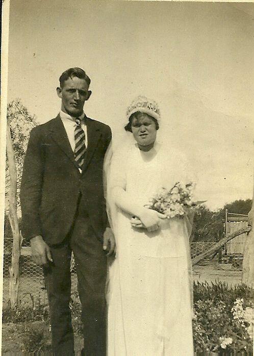 Alfred Ernest Dewar & Ivy May Osbourne