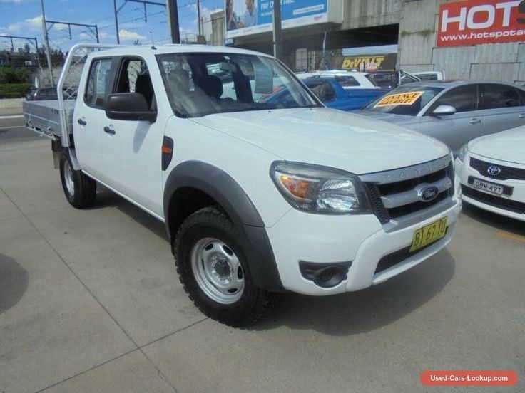 2010 Ford Ranger PK XL Hi-Rider White Manual 5sp M 4D Utility #ford #ranger #forsale #australia