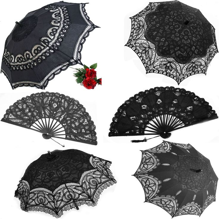 Black lace parasols are back in stock at Ipso Facto's Fullerton, CA boutique and www.ipso-facto.com just in time for Bats Day this weekend! Don't miss out, come down and grab one today!