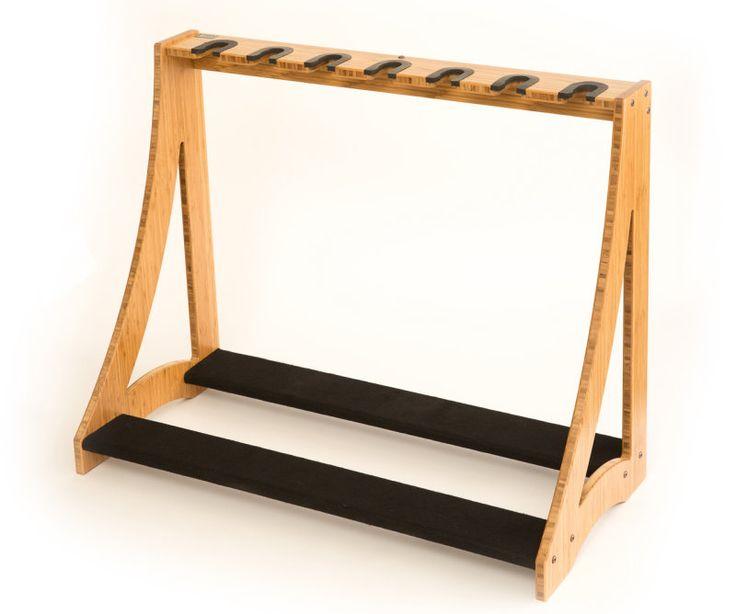 DRS Racks- modular, stackable wood guitar storage racks ...