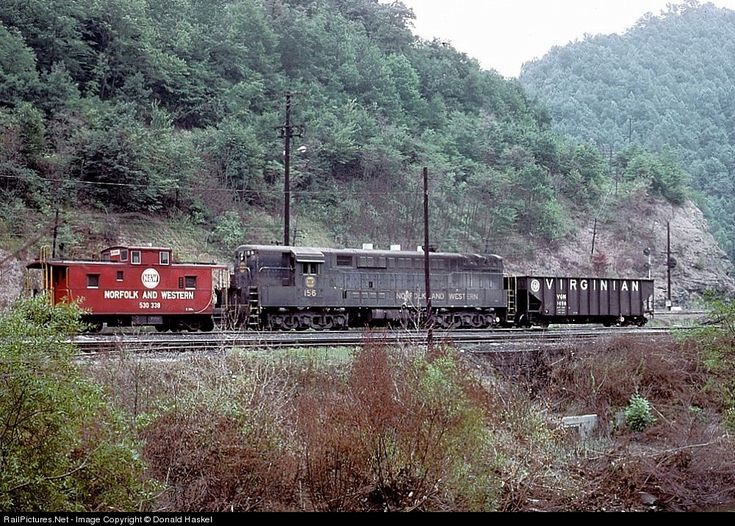 RailPictures.Net Photo: NW 156 Norfolk & Western FM H24-66 at Mullens, West Virginia by Donald Haskel