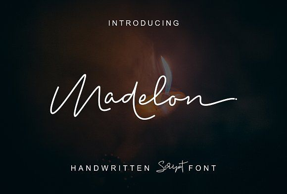 Madelon Script by Ijemrockart / Letterplay on @creativemarket