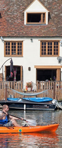 Kayak and Canoe sprint, a London Olympic Games cottage
