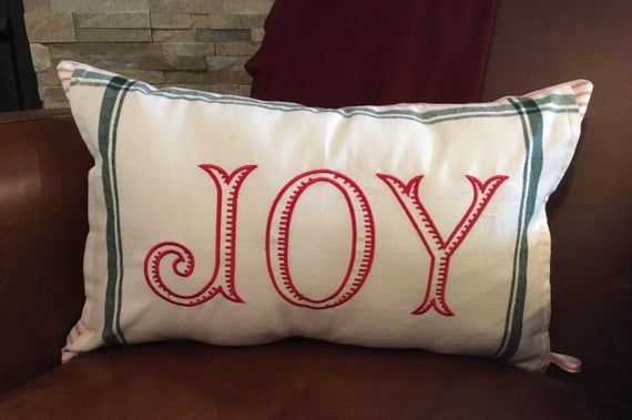 Christmas Pillow Cover 12 X 20 12 X 24 Inch Pillow Cover Farmhouse Pillow Cover Christmas Decor Farmhouse Decor Holiday Lumbar Pillow Cover Christmas Pillow Covers Christmas Pillow Farmhouse Pillows