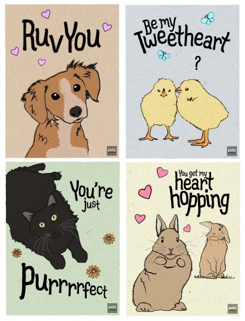 dog valentine ecards free