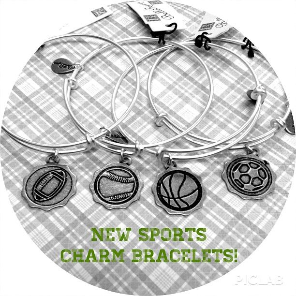 Looking to switching up your #bellaryann #bracelets? We now have #sports charms! Check them out here www.jaspers-jewelry.com #soccer #football #baseball #basketball #charms #jewelry # charmbracelets #new #piclab