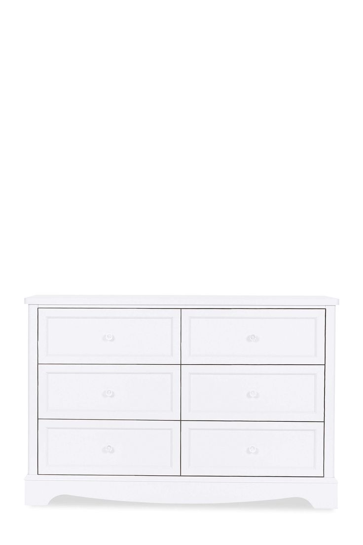 Girls Next Amelia Wide 6 Drawer Chest Grey With Images