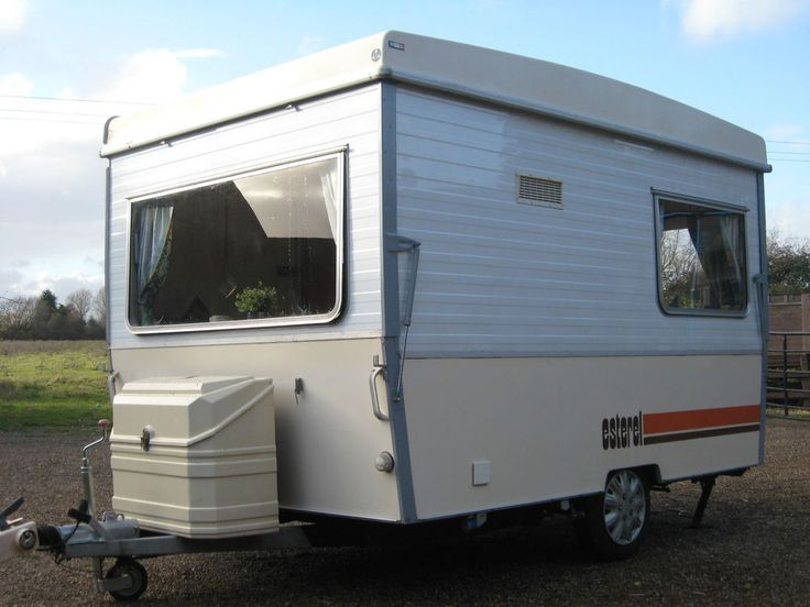 FOLDING CARAVAN ESTEREL SMALL LIGHTWEIGHT 3 BERTH CLASSIC RETRO! SUPERB! in Cars, Motorcycles & Vehicles, Campers, Caravans & Motorhomes, Caravans | eBay!