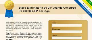 Promoção Revista Seleções - Grupo Reader's Digest