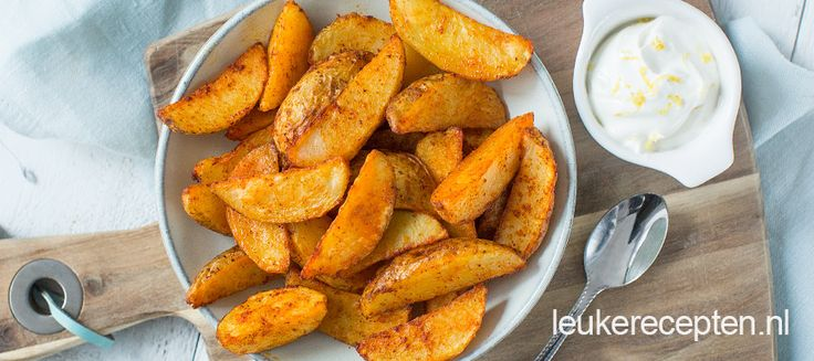 Pittige aardappeltjes uit de oven