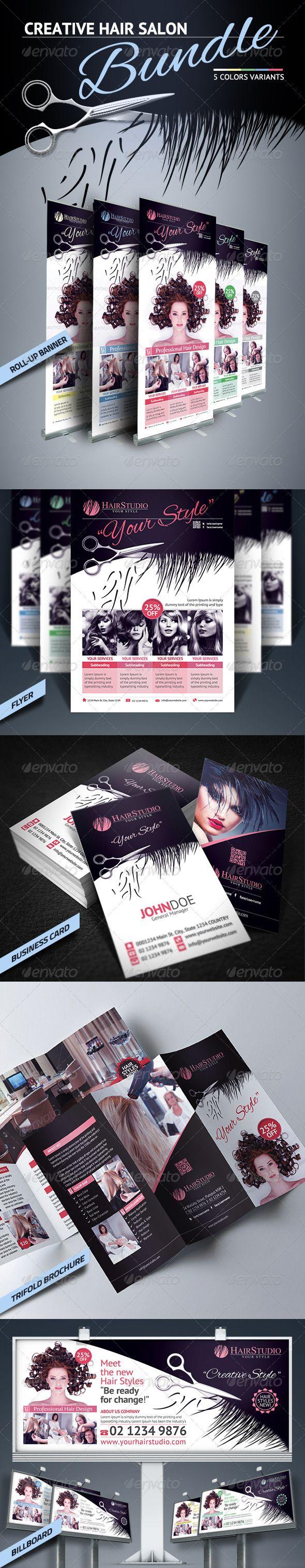 14 best leesa dykstra designs business cards images on pinterest hair salon bundle salon business cardsbanner designhair salonsprint magicingreecefo Image collections