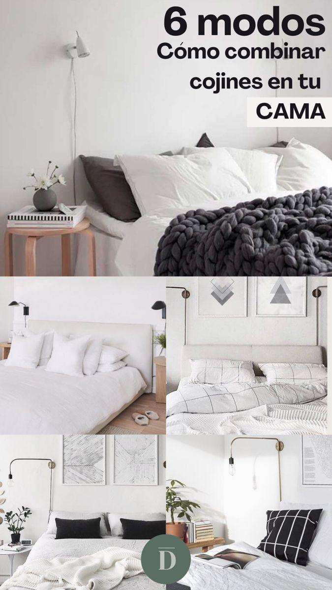 Maneras De Colocar Los Cojines En La Cama Dormitorios Ideas De Decoracion De Dormitorio Camas