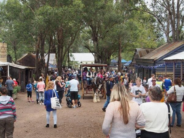 Australia Day at The Australiana Pioneer Village. Photo : Brett Miller