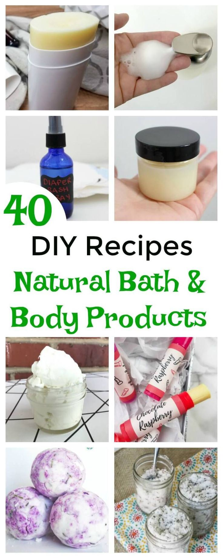 Did you know that most of us come in contact with more than 100 toxic chemicals every morning before we even leave our homes? Make your own DIY bath and body to avoid toxic chemicals and save money. Get this new ebook with 40 recipes for everyone in your family - DIY baby products to DIY self-care products. #DIYBeauty #MamaInstinctsBlog