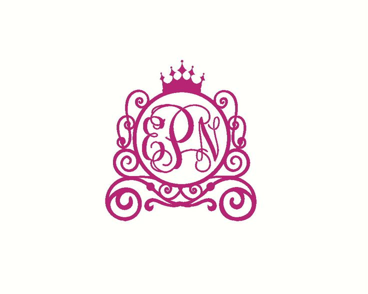 Princess Car Decal Princess Carriage Decal Girl Car Decal Car Monogram Decal Car Sticker Monogram Car Decal Monogram Car Decal by RunWildVinylDesigns on Etsy