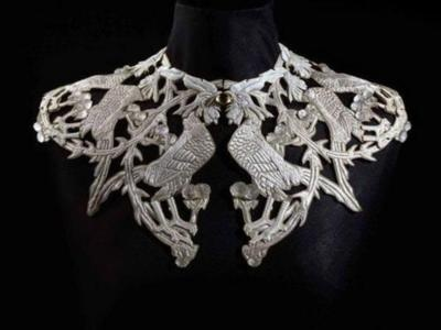 Rene Lalique  collar with cocks Chanticleer