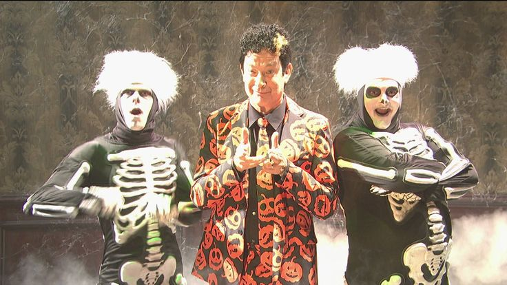 David S. Pumpkins Will Haunt Your Dreams...one of the funniest/strangest things of all time
