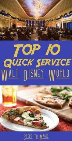 Top Ten Quick Service Locations at Disney World