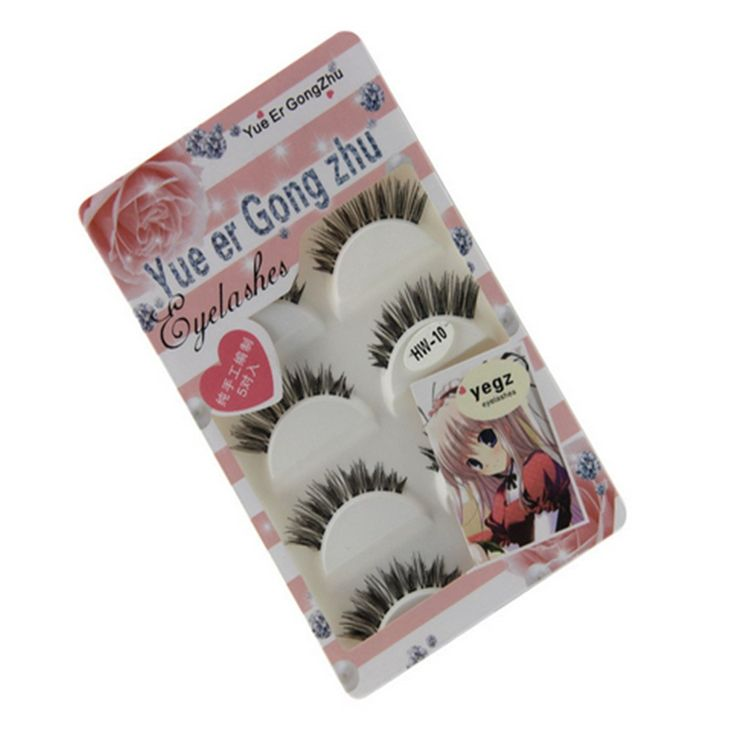 TraveT Premium Quality Natural False Eyelashes 3D Fake Thick Eye Lashes. A lengthening lash with wispy finish. This natural, volumizing lash is ideal for filling in sparse lashes and making eyes appear bigger and lashes appear longer. A more even and natural lash with transparent band . Once you¡¯ve got these lashes on, you can¡¯t even feel them. But you still get a natural, eye-opening effect. Apply These Eyelashes for a Natural Look and Feel. Eyelashes is reuseable if used and removed...