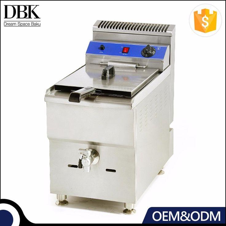 Professional Commercial Deep Fryer Industrial Gas Fryer Outdoor Deep Fryer