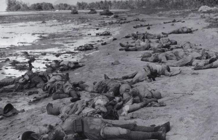 dead marines  peliliu  wwii