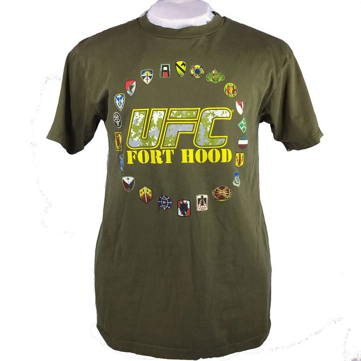 UFC Fight For The Troops Fort Hood Large T-shirt  | eBay