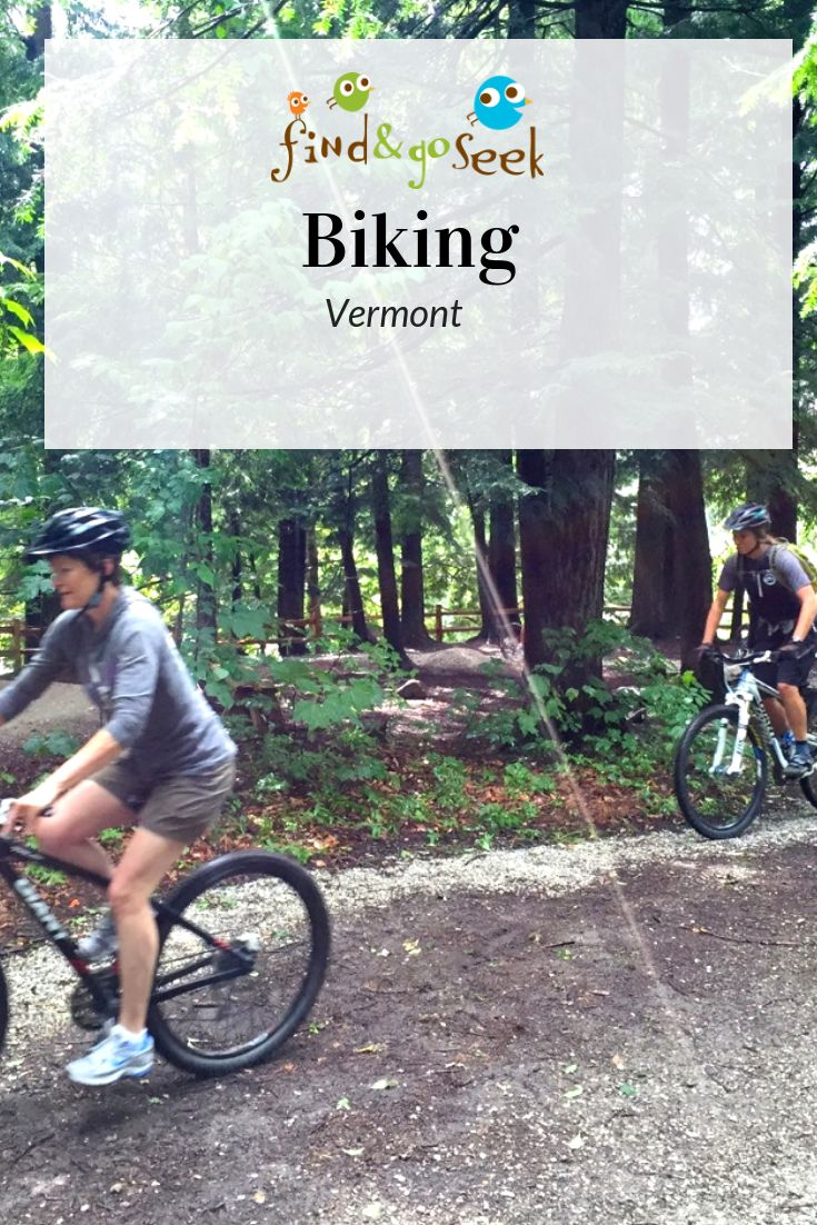 Bike paths gear trails and races in vermont kids