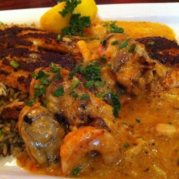 Blackened Catfish Opelousas @ Pappadeux  (recipe at food.com)