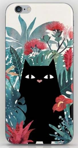 gifts for cat lovers - cat iPhone case