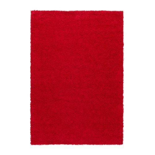 HAMPEN Vloerkleed, hoogpolig IKEA Slijtvast, vlekbestendig en onderhoudsvriendelijk omdat het kleed is gemaakt van synthetische vezels.
