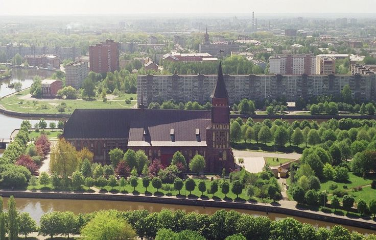 Beautiful view of Kaliningrad
