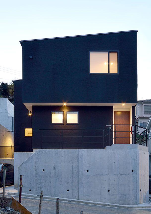 オーバーハング構造の家・間取り(横浜市) |ローコスト・低価格住宅 | 注文住宅なら建築設計事務所 フリーダムアーキテクツデザイン