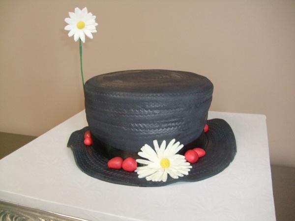Mary Poppins Hat Cake