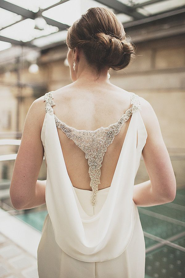 City Chic Wedding Dresses : Wedding dress for a colourful city chic celebration