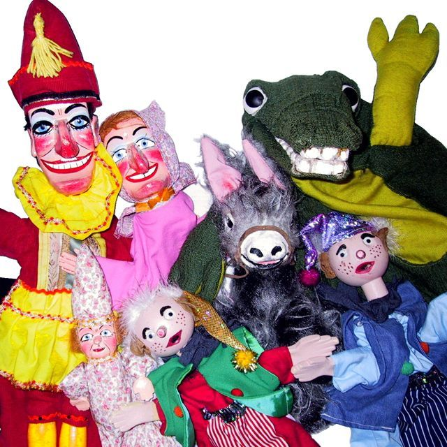 Punch Judy and Friends from Custard Pie Puppets