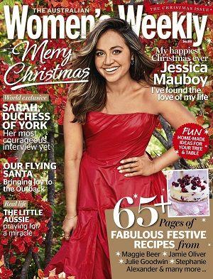 @womensweeklymag #magazines #covers #december #2016 #festive #jessicamauboy #recipes #food #baking #Royals #DuchessofYork