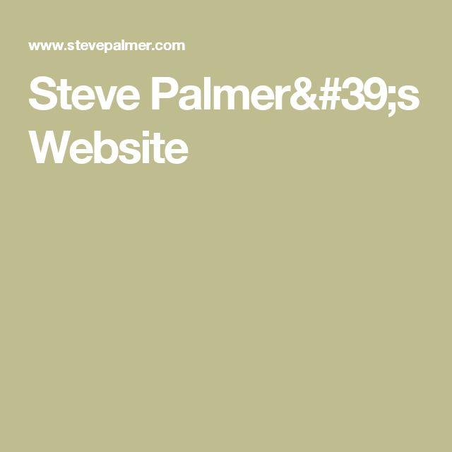 Steve Palmer's Website