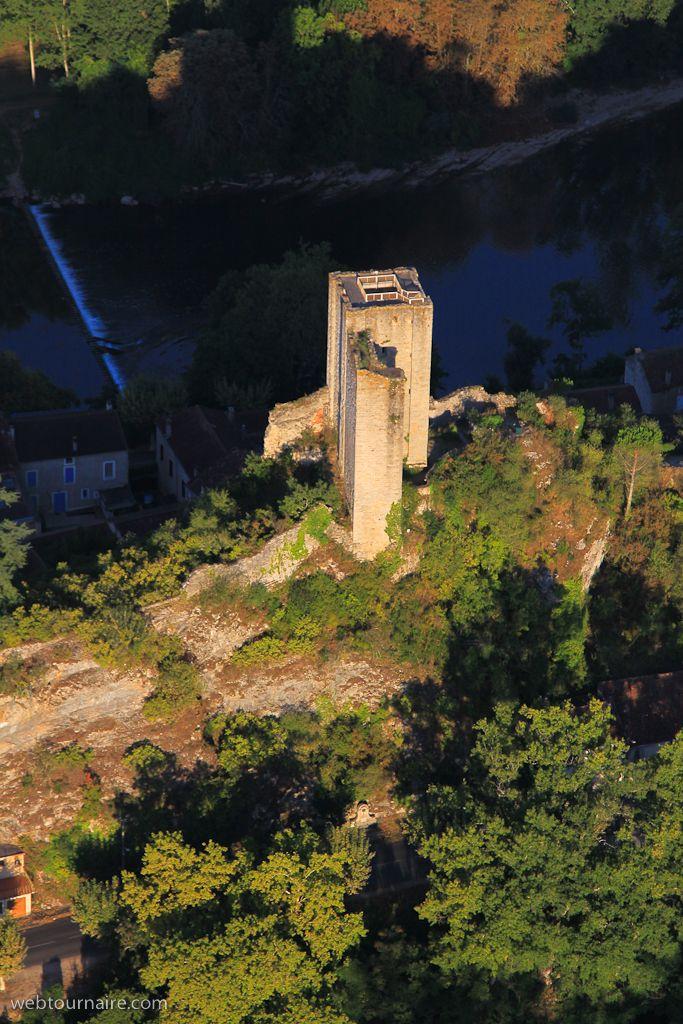 ✈️ Photo aérienne de : Luzech - Lot (46)
