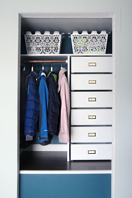 IHeart Organizing: A Coat Closet Makeover... Again...