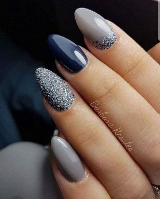52 Trending Winter Nail Colors Design Ideas Winter Nail Art