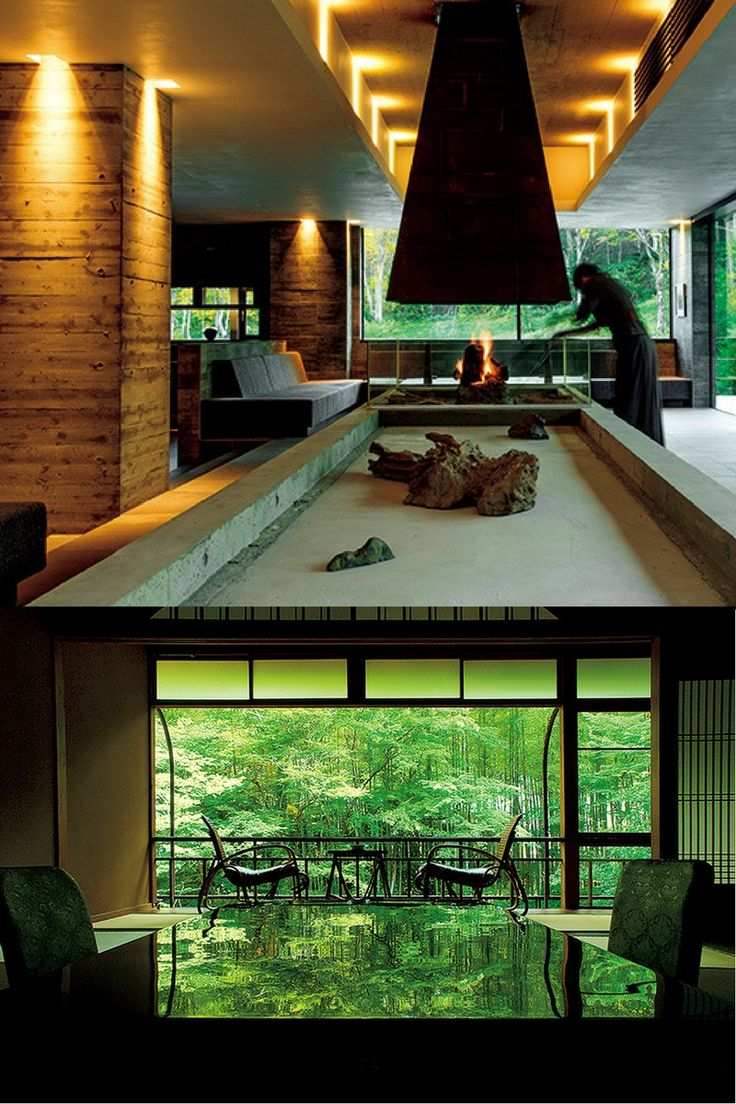 GQ Japan 靴を脱いでくつろぐ居室は旅館の醍醐味だ。旅の達人たちが推薦するクールな空間を紹介する。| zaborin.com
