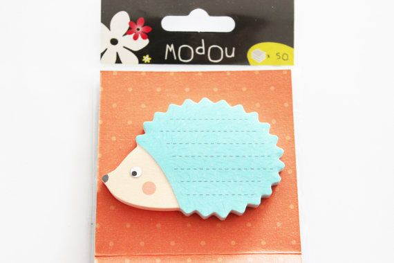 cute sticky notes hedgehog .50 sheets each. You can whrite down your memories or decorate something ,use it for scrapbooking or filofaxing.