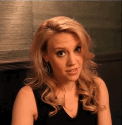Kate winking is the best thing ever ~ Kate McKinnon gif made by me (@inmate2000 on Pinterest) ~ Click to see full video that this gif is from