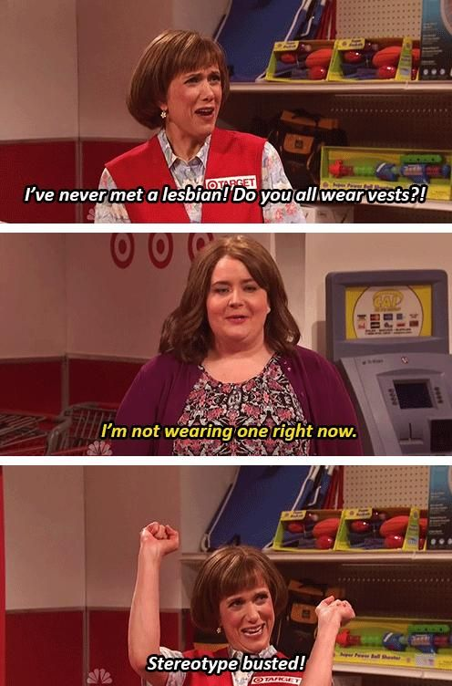Hahaha I love Target Lady from Snl