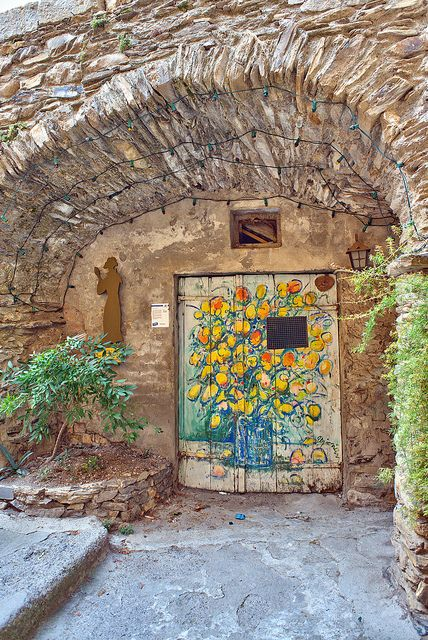 The small medieval village of Valloria in Liguria - Italy