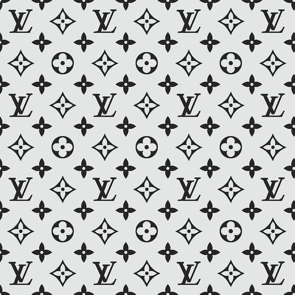 Negozio Di Prodotti Disegnati Da Independent Artists E Iconic Brands Louis Vuitton Pattern Grey Art Print Grey Art
