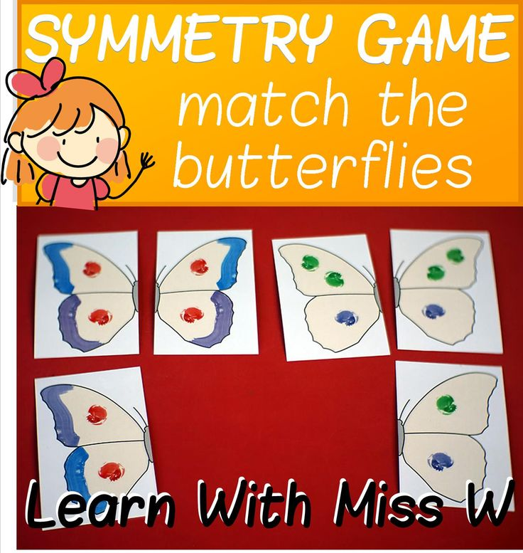 Free for short time only! A beautiful butterfly matching game for learning about symmetry. There are 8 different butterflies to match up by looking at the stripe at the edge of the wing and the number and colour of dots. Some of the butterflies are very similar, so learners will need to play close attention to match them correctly.