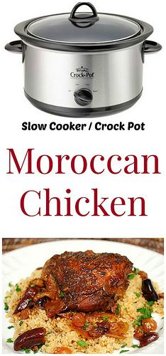Moroccan Chicken that highlights a wonderful combination of aromatic spices and tender, braised chicken. Serve with couscous | What's Cookin, Chicago?
